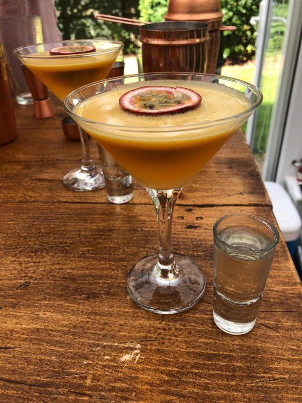 Pornstar Martini Cocktail