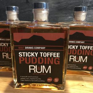 Sticky Toffee Pudding Rum from The Mint Drinks Co