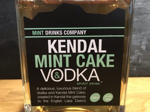 Kendal Mint Cake Vodka from the Mint Drinks Co